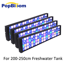 Freshwater Led Aquarium Fish Tank lights Fishing Lamp For Planted Full Spectrum Sunrise Sunset Dimmable turing50