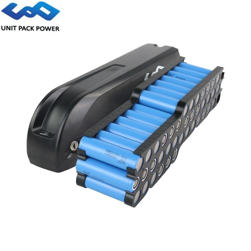 52V 15Ah 14S3P Sharp eBike Battery 48V 15Ah 720Wh 21700 Samsung 50E 5000mAh Cell Electric Bike Battery For 1500W 750W 500W Motor