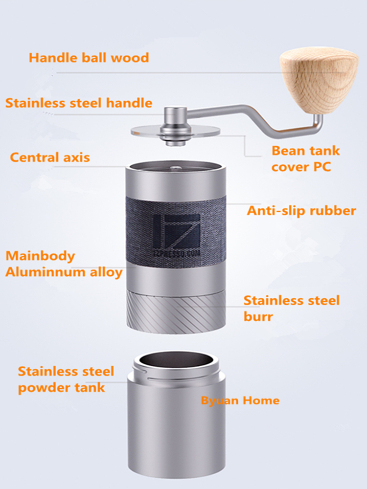 Image 3 - 1pc New 1zpresso Jx 48mm conical burr super coffee grinder  coffee mill grinding core super manual coffee bearing recommendElectric Coffee Grinders   -