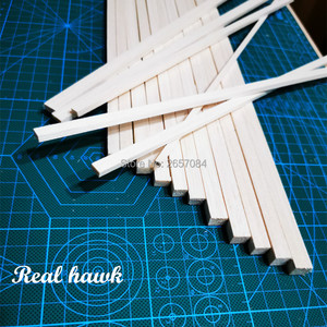 200 mm length 5 mm thickness width 6/7/8/9/10mm wood strip AAA+ Balsa Wood Sticks Strips for airplane/boat model DIY