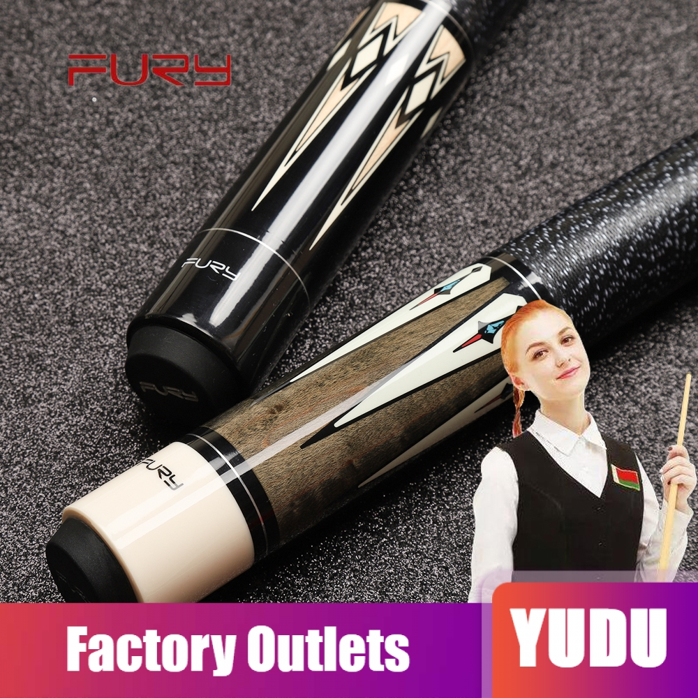 FURY Billiards Pool Cues 11 75mm 12 75mm Tip Billiard Stick Cues Case Set Billiard Kit Professional High Quality for Athletes in Snooker Billiard Cues from Sports Entertainment