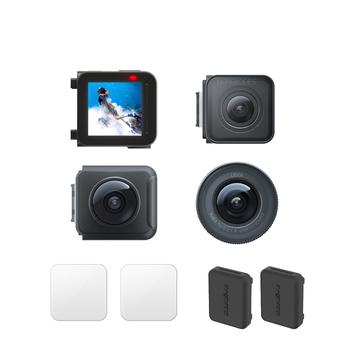 Oryginalny Insta360 ONE R Core kamera sportowa 4k obiektyw Mod 360 Mod 1-Cal obiektyw Mod Leica obiektyw Mod wymiana naprawa części tanie i dobre opinie Inne Serii SONY Ambarella H2 (4 K 60FPS) O 14MP Dla Domu