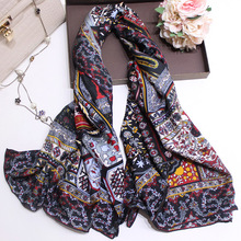 Pure Twill Silk Scarf Women Square Large Bandana Scarves Female Shawls Lady Wraps 140*140cm