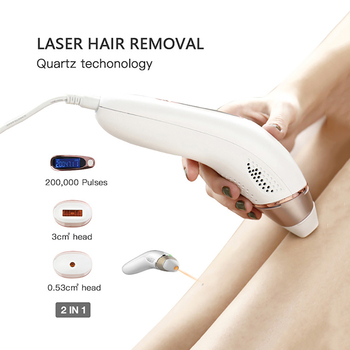 IPL Laser Hair Removal Machine Epilator For Women Flawless Permanent Hairs Removal+Skin Rejuvenation+Acne Clearance