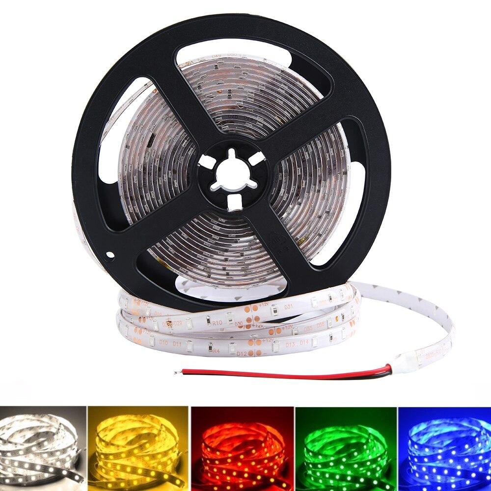 5 в 12 В RGB светодиодный светильник 5 м 2835 60 светодиодный/м теплый белый RGB 5 12 В светодиодный светильник водостойкая лента светодиодный светиль...