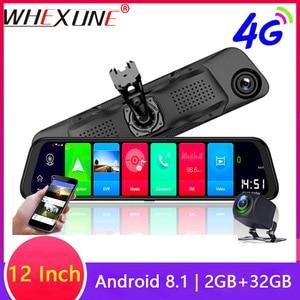 WHEXUNE 12 inch 4G Car DVRs AD