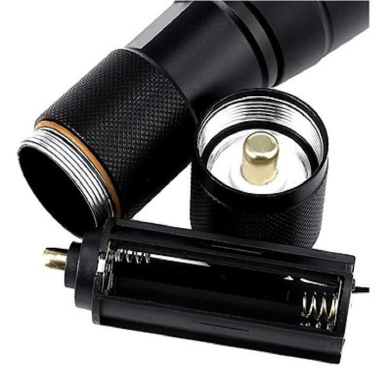 Five speed Glare T6 Glare Led Telescopic Zoom L2 Flashlight Camping Outside Multiple Gears