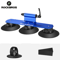 ROCKBROS Bike Rack Roof Top Suction Car Racks For MTB Mountain Road Carrier Quick Installation Bicycle Rack Cycling Accessories
