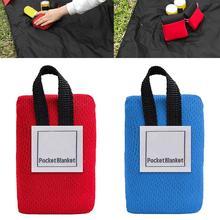 Портативный ультра-мини складной Открытый Кемпинг коврик для пикника Водонепроницаемый пляжное одеяло шик