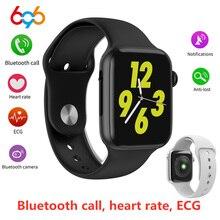 696 W34 Bluetooth Call Smart Watch ECG Heart Rate Monitor iwo 8 lite Smartwatch