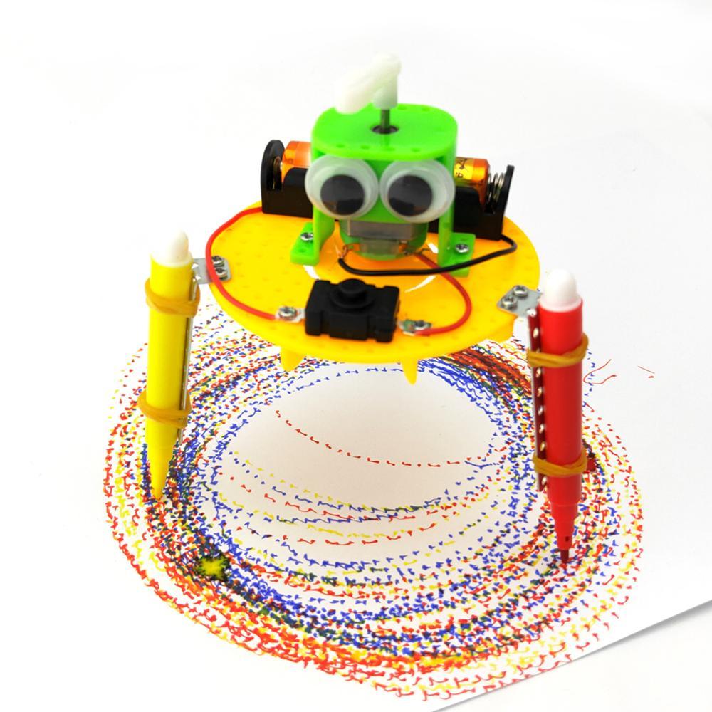 Robot de Doodle para aprendizaje temprano, tecnología de Doodle, pequeños inventos, juguetes educativos para niños, experimento de ciencia primaria y secundaria