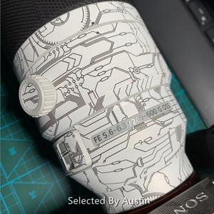 Image 4 - Film denveloppe de décalcomanie de peau de lentille pour Sony FE 200 600 F5.6 6.3 G OSS SEL200600G couverture dautocollant anti rayures