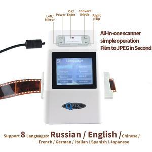 Image 4 - Scanner de Film négatif Portable de 35mm, résolution de 22 mégapixels, 110 135, 126KPK, convertisseur de Film numérique avec écran LCD de 2.4 pouces