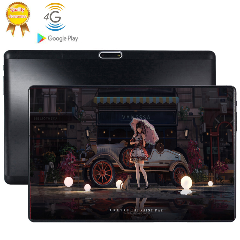2020 New10.1 Inch Tablet PC 8 Octa Core Android 9.0 WiFi Dual SIM Cards 3G 4G LTE Tablets 10.1 6GB RAM 64GB 128GB ROM 1280X800