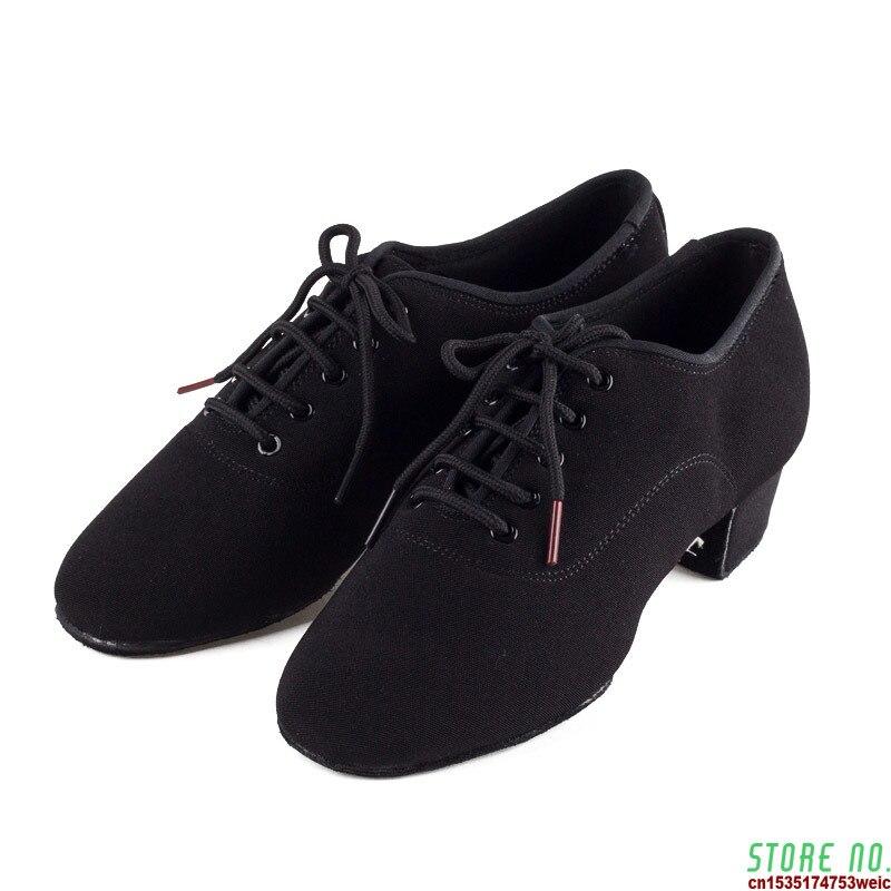 Натуральная Для мужчин обувь Туфли для латинских танцев взрослых двухопорная подошвы учитель обувь мягкой подошвой танцевальные туфли муж...