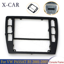 X-CAR 1 pçs console do carro quadro console central guarnição moldura painel quadro decorativo para vw passat b5 2001 2002 2003-2005 3b0858069