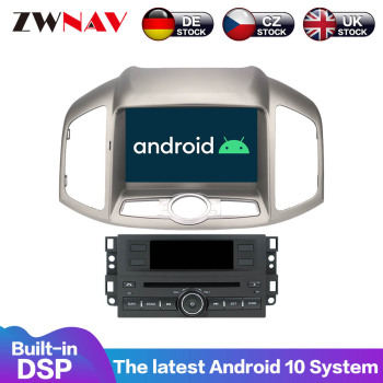 Android 10 PX5/PX6 4+64G DSP Carplay IPS Screen For Chevrolet Captiva 2012 2013 2014 2015 +  Car Multimedia Head Unit DVD Player недорого
