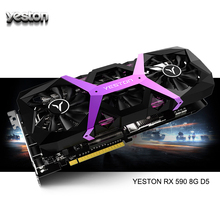 Yeston Radeon RX 590 GPU 8GB GDDR5 256bit Gaming Desktop PC computer Video Graphics Carte di supporto DVI/HDMI PCI E X16 3.0