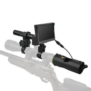 Image 4 - 850nm אינפרא אדום LED IR ראיית לילה Riflescope ציד סקופס אופטיקה Sight ציד מצלמה ציד חיות בר ראיית לילה