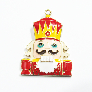 Image 2 - Newest 45mm*37mm 10pcs/lot Zinc Alloy Necklace Christmas Pendants For Chunky Jewelry
