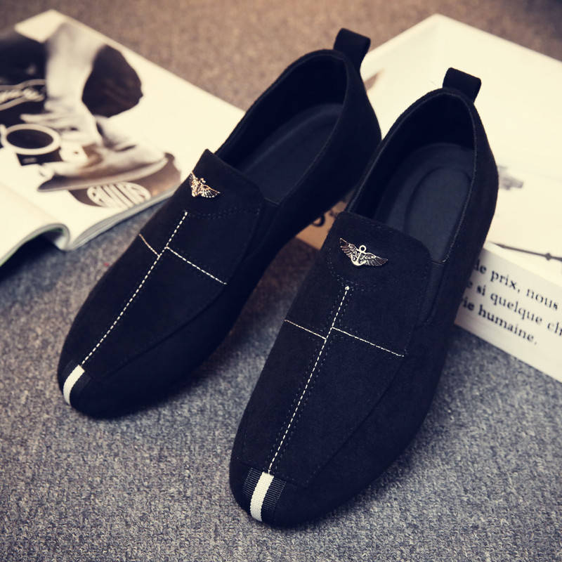 Brand Men Shoes Wedding Shoes Men Suede Male Loafers Casual Shoes Breathable Driving Shoes Mens Flat Shoes Tassel Mocassin Homme