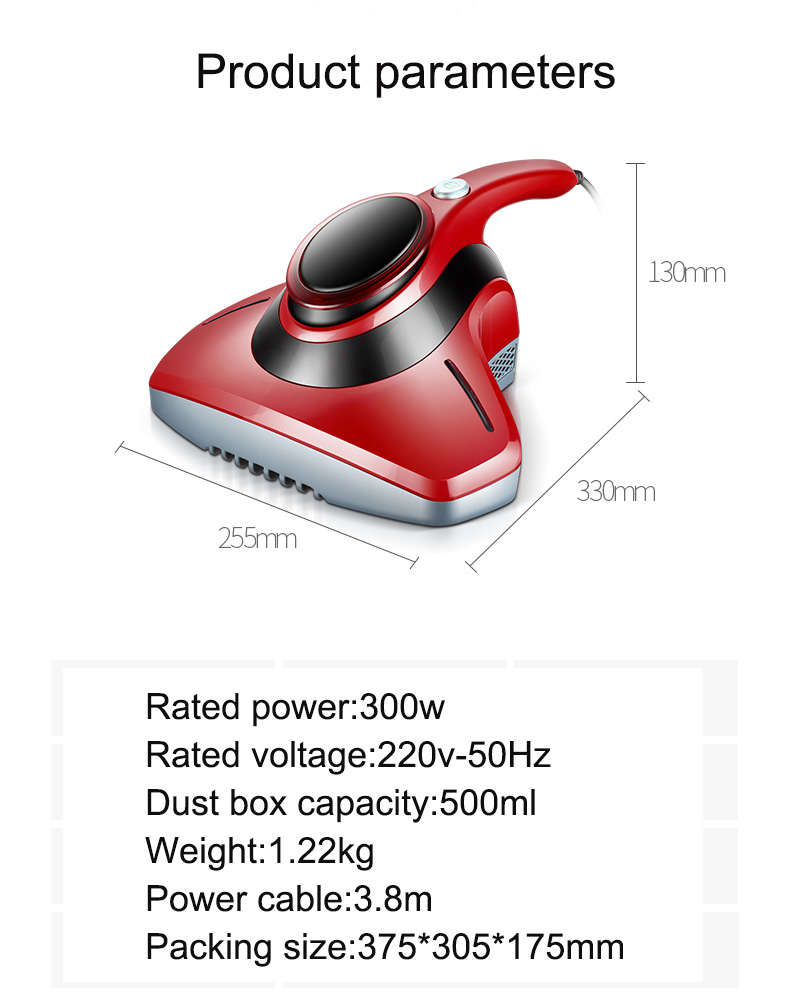 Bed Mite Vacuum Cleaner