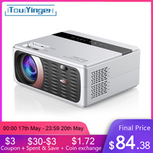 TouYinger X30 LED 4000 Lumens Projector 1080P Full HD WIFI LCD Home Theater Movie Beamer Android optional Proyector 180'' Screen