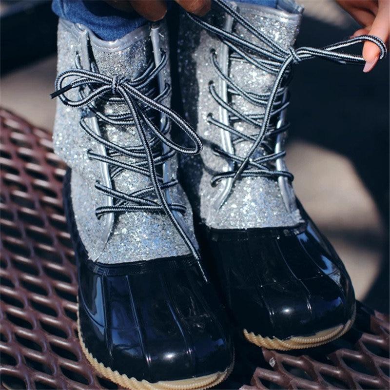 Women-s-Boots-Lady-Duck-Boot-With-Waterproof-Zipper-Rubber-Sole-Women-Rain-Boots-Lace-Up (6)