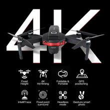 4K RC Quadcopter HD Camera X46G 5G WIFI FPV GPS Fold Drone Wide Angle Follow ME 400M Remote Control Distance helicopter цена 2017