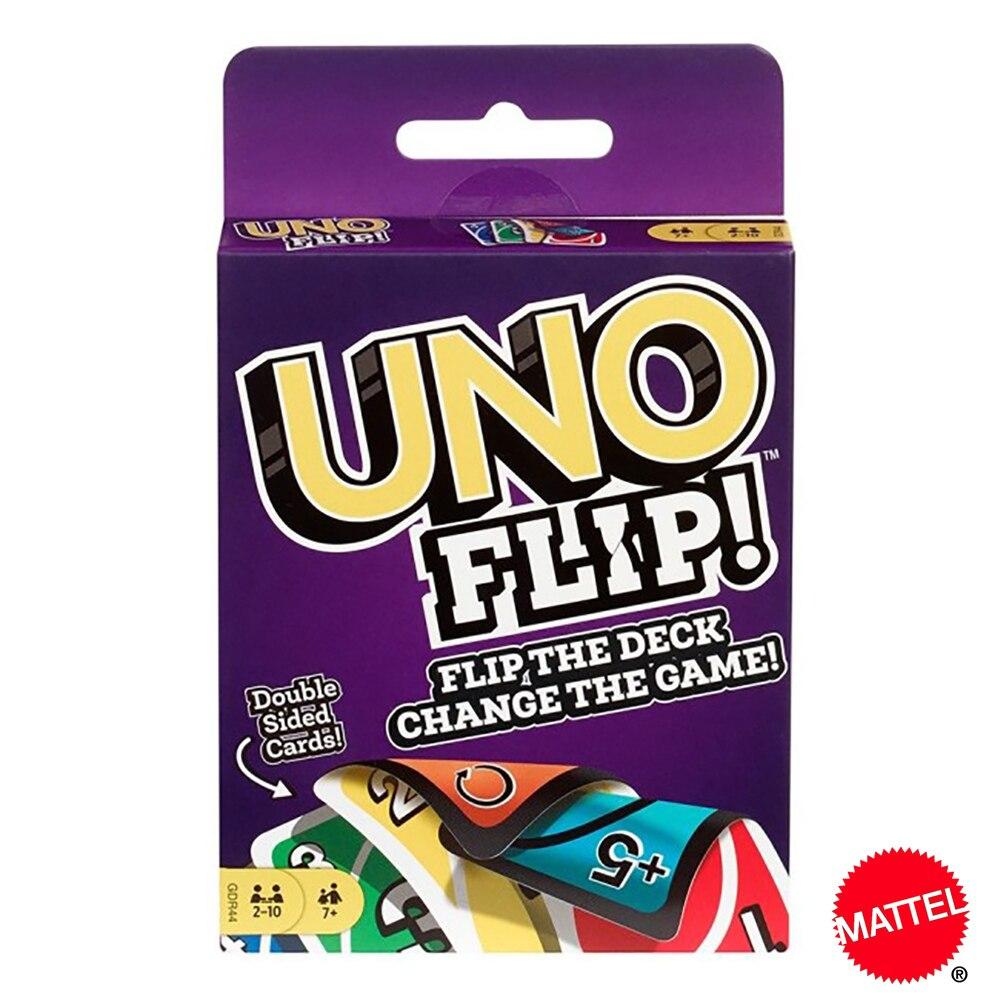 Чехол для Mattel UNO! Игры Семья забавные развлечение настольная игра Fun игральные карты детские игрушки подарочной коробке uno карточная игра