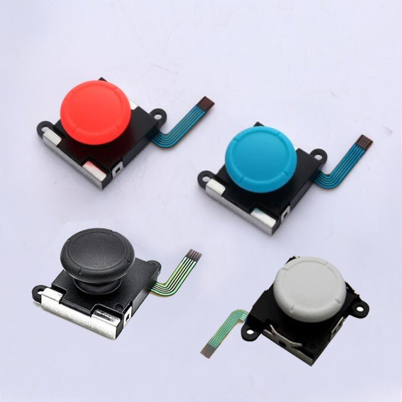 3D Analog Joystick Thumb Stick Grip Cap Button Key Module Control Repair Tool For Nintend Switch Lite NS Mini Joy-Con Controller