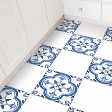 4*Bathroom Floor Sticker Anti-skid Bedroom Waterproof 30*30cm Stickers Decoration High Quality