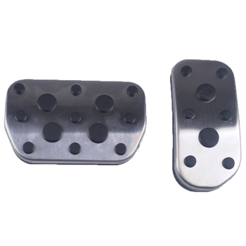 Corolla AURIS Lexus Pad Plate Cover Accessorie Prius at Stainless Steel Brake Accelerator Fuel Pedal Fit for Toyota RAV4 AVENSIS