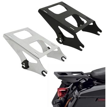 Motorcycle Detachable 2 Up Mounting Luggage Rack For Harley Tour Pak Pack Touring Road King Street Glide Special CVO 2014-2018