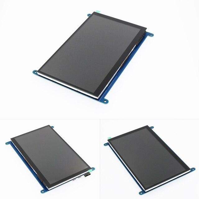 7 pollici 800*480 IPS Capacitivo Touch Panel TFT LCD Modulo di Visualizzazione Dello Schermo per Raspberry Pi 3 B +