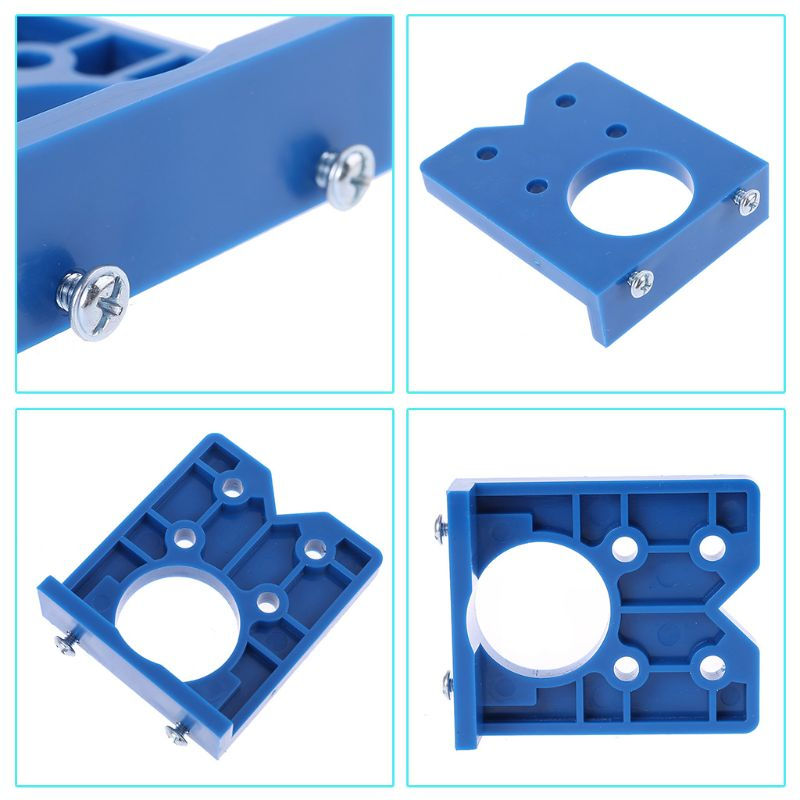 35mm 35mm DIY Locator Accurate Woodworking Mounting Hinge Drilling Jig Guide Door Hole Opener Concealed Cabinet Accessories Tool