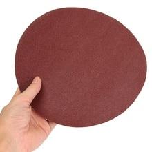1Pc 9 Inch Runde Schleifpapier Disk Sand Blätter 60 Grit Aluminium Oxid Schleifen Polieren Disc Schleifpapier Schleifen Papier Schleif werkzeug