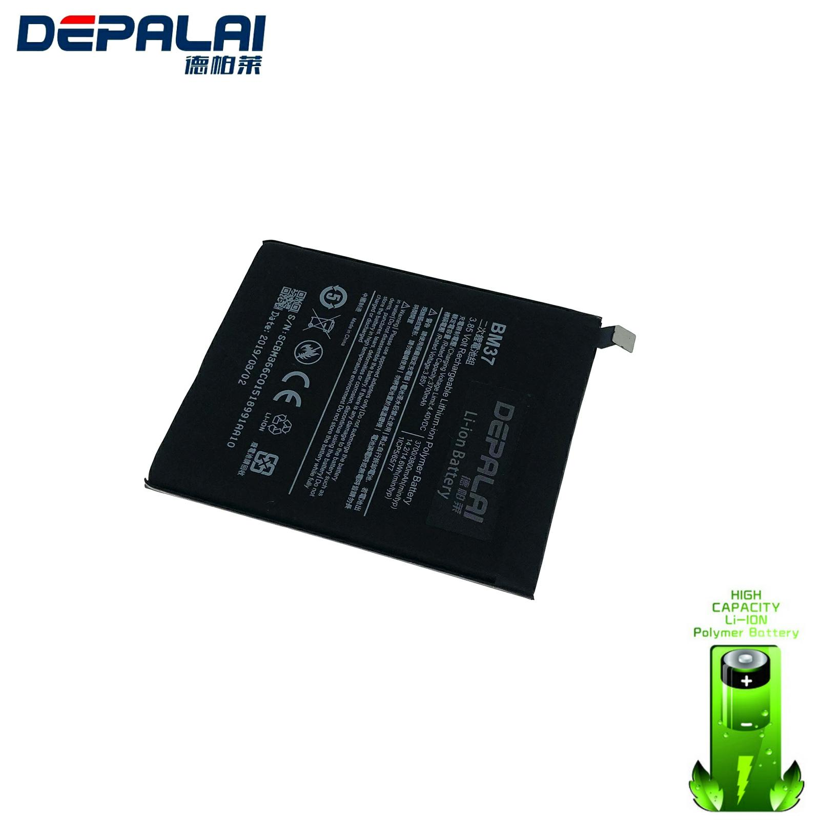 BM37 Mobile Phone <font><b>Battery</b></font> For Xiaomi <font><b>Mi</b></font> <font><b>5s</b></font> Plus Real Capacity 3800mAh Replacement Li-ion <font><b>Battery</b></font> image