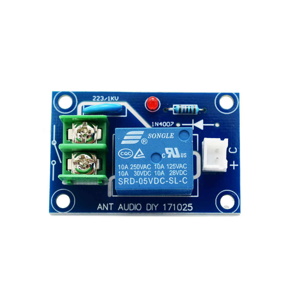 Lusya Remote Preamp Volume Control Board 4-Way Audio Sinyal Input Selector Beralih Papan T1188