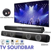 Home theater HIFI Portable Wireless Bluetooth Speakers column Stereo Bass Sound bar FM Radio USB Subwoofer for Computer TV Phone