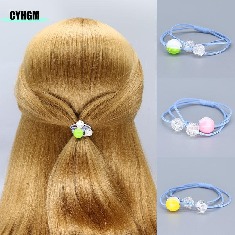 Elastic Hair Bands Girls Hair Band Hair Ties Velvet Scrunchie Elastique Cheveux Kids Hair Accesorios Brand F06-2