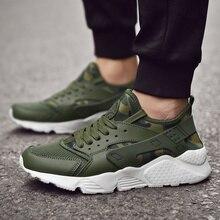 Plus Size 35-47 Men Sneakers Brand Breathable Sport Shoes