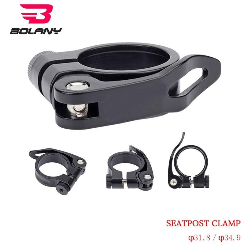31.8//34.9mm Aluminum MTB Mountain Bike Bicycle Seatpost Clamp Quick Release GUB