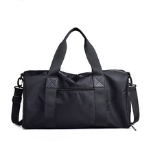 Logo Short Trip Travel Bag Men's Hand-Style Large-Volume Wat