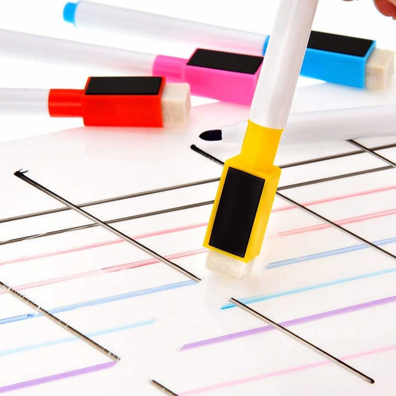 Lavagna magnetica A3 Formato Autoadesivi Del Frigorifero Secco Cancellare Lavagne Magnete Bordo Ufficio Scuola Per Bambini Tavolo Da Disegno Adesivi Murali