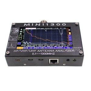 Image 2 - Nuovo Aggiornamento Mini1300 0.1 1300MHz HF VHF UHF ANT SWR Antenna Analyzer Touch screen da 4.3 pollici