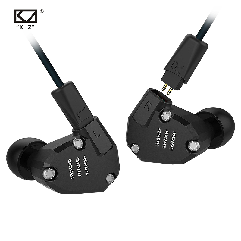 AK KZ ZS6 2DD+2BA Hybrid In Ear Earphone HIFI DJ Monito Running Sport Earphones Earplug Headset Earbud KZ AS10 ZST ZS10 AS16 ZS7 image