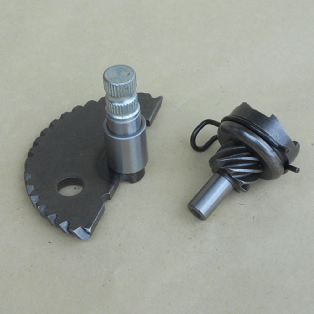 Direct Fit Durable <font><b>Parts</b></font> Motorcycle Starter Gear Kit Single Cylinder <font><b>Engine</b></font> With Spring Kick Start Scooter For <font><b>GY6</b></font> <font><b>50cc</b></font> 80cc image
