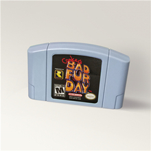 Conkers Conkers Bad Fur Day For 64 Bit Game Cartridge USA Version NTSC Format