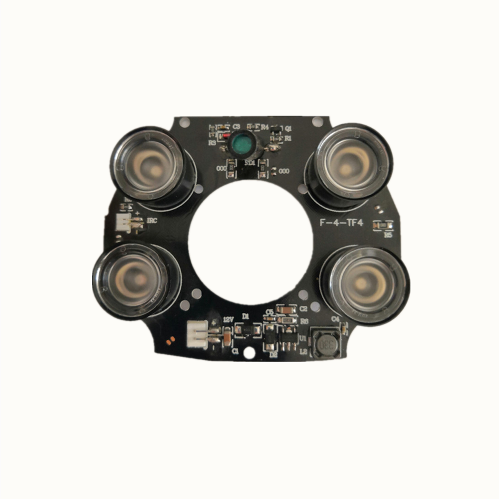High Power Array IR LED Light Board CCTV Security Camera Infrared Light Board Surveillance Accessory Viewing range 30-50m